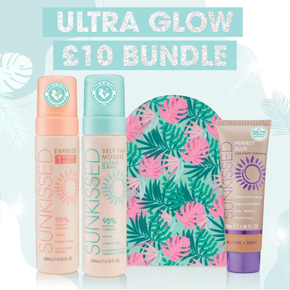 Sunkissed  Ultra Glow Super Bundle