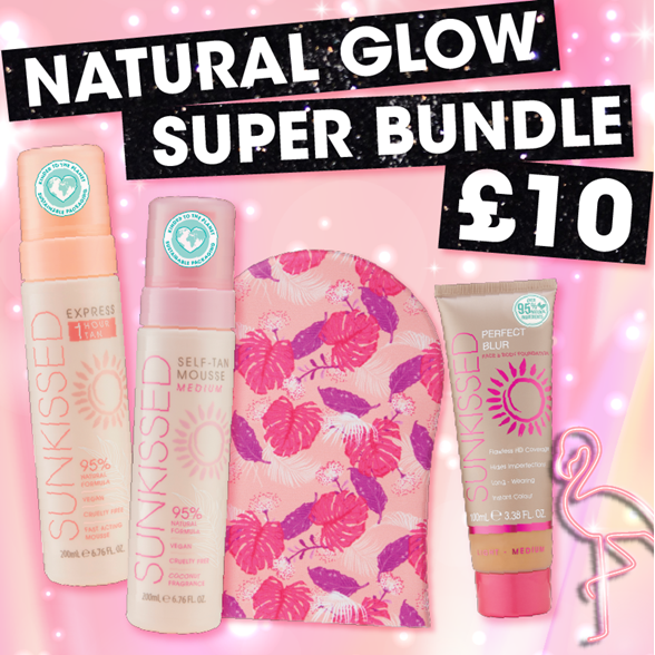 Sunkissed  Natural Glow Super Bundle